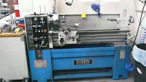 Eisen 1440e 14 X 40 Percision Engine Lathe Made In Taiwan 220v Good Condition