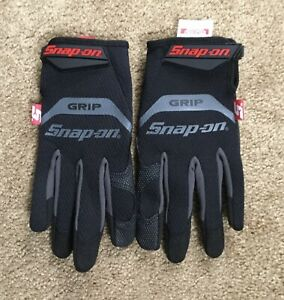Snap On Tools Mechanic Mechanics Grip Gloves Size Large Tools