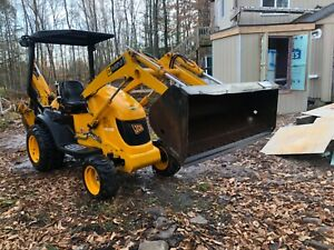 2005 Jcb Mini Cx Backhoe Only 476 Hours Meticulously Maintained Clean