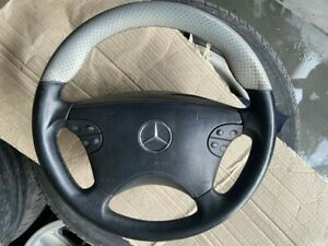 Mercedes Benz W210 E55 W208 Amg Nardi Sport Steering Wheel Perforated Leather