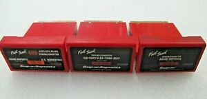 3 Snap On Mt2500 Scanner 1998 1999 Abs Domestic Asian Troubleshooter Cartridges