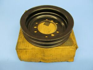 Nos Big Block Chevy Bbc 396 402 427 454 Deep 2 Groove Crankshaft Pulley 2005091