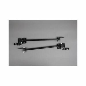 Mcgaughy S 63212 Traction Bars Steel Black Powdercoated Chevy Bel Air Kit