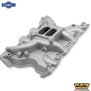 Weiand Action plus Intake Manifold For Ford 351m 400 2v Heads satin Finish