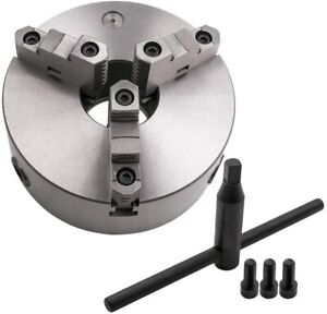 Self centering Lathe Chuck 3 Jaw 3 Inch For Milling K11 80 Hardened Steel