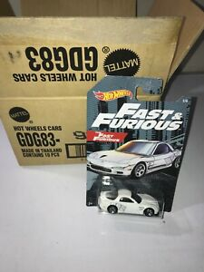 2019 Hot Wheels Fast And Furious Series #x27;95 MAZDA RX 7 Walmart Exclusive #2 6 $3.85