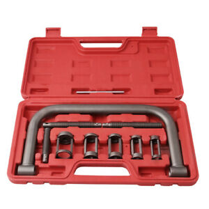 5 Sizes Small Engine Valve Spring Compressor Tool Kit For Car Motorcycle