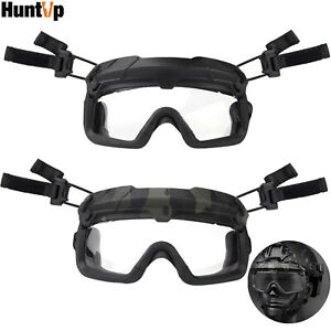 5x Military Tactical Goggles for FAST Helmet Paintball Airsoft Safety Protective $15.99