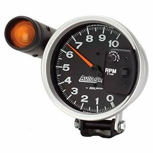 Autometer 233904 Auto Gage Tachometer 5 10k Rpm With Shift Light