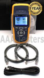 Fluke Networks Linkrunner Lrat 1000 At 1000 Network Auto Tester At1000 Lrat1000