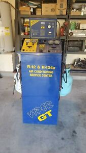 Viper Gt Ac Machine Recover Recycle And Recharge With A Refrigerant Identifier