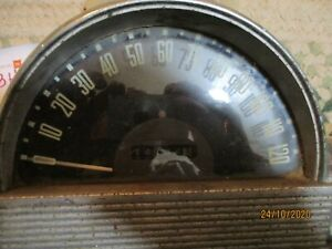 Used Works 1953 Hudson Speedometer W Lo Miles Will Need Gone Thru And Cleaned Up
