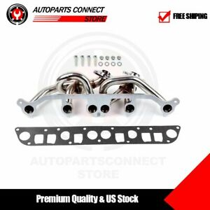 For Jeep 2000 2006 Wrangler Tj 4 0l L6 Amc 242 Stainless Racing Manifold Header