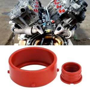 2pcs For Mercedes Benz Om642 Turbo Intake Seal Ring Engine Breather Seal Kit