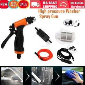 Car Washer Portable Water Pump High Pressure Self priming Quick Cleaning Kit Ky