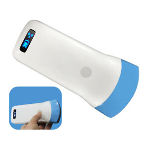 Ultrasound Scanner Electronic Array Probe For Smartphone Wireless Handheld Conve