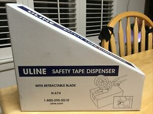 Uline H 674 Industrial Tape Gun Dispenser Side Loader 2 Free Shipping New