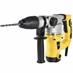 1300w 1 1 2 Electric Demolition Jack Hammer Concrete Breaker Punch Chisel Bit