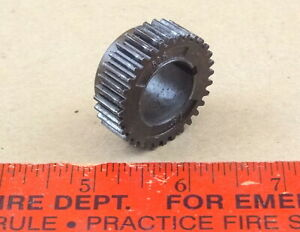 Exclnt Atlas Craftsman 6 618 Lathe Headstock Spindle Drive Gear M6 32 M6 100 32