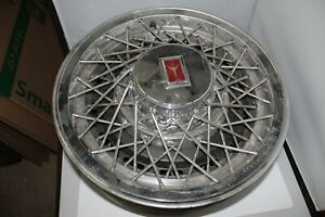 4 Vintage Oldsmobile Delta 88 Custom Cruiser Wire Wheel Hubcaps