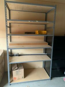 Industrial Shelving Boltless Steel And Particle Board 3 6 Shelves