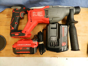 Craftsman Cmch233b V20 Cordless Brushless Sds Rotary Hammer Battery Charger
