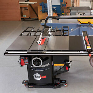Saw Stop Industrial Cabinet Saw 3hp 1ph 36 T glide