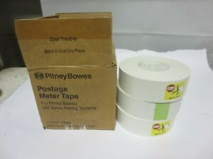 Pitney Bowes Postage Meter Tape 627 8 New 3 Pack Dm Series Mailing Systems