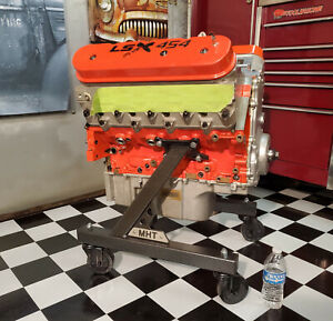 New Engine Cart Stand Cradle Fits The Ls Gen 5 Lt W Trans 4 Casters
