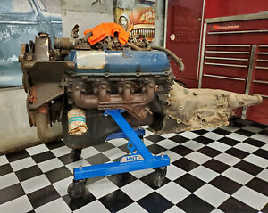 Big Block Ford Engine Cart Stand 429 460