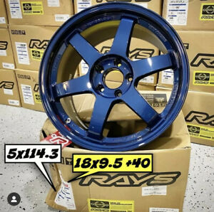 Volk Racing Te37sl Te37 Super Lap Sl 18x9 5 40 5x114 3 In Stock