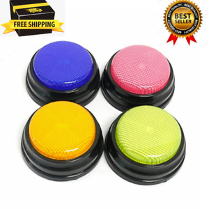 Recordable Talking Button Led Function Learning Resources Answer Buzzers Xmas