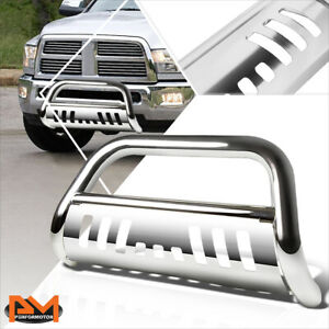 For 10 18 Dodge Ram 2500 3500 Truck 3 Tubing Bull Bar Bumper Grille Guard Chrome