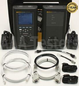 Fluke Networks Dsp 2000 Cat5 Lan Cable Analyzer Tester Certifier Dsp2000 Sr