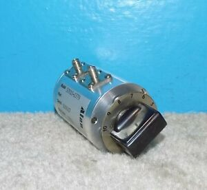 Alan 50v10 1779 Rotary Step Attenuator 0 10db 1db step Dc 2ghz 50 Free Shipping