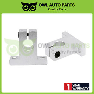 2pc 12mm Sk12 Linear Rail Shaft Guide Support Bracket Bearing For Cnc Step Motor