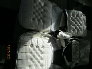New 1979 1985 Cadillac Eldorado Biarritz Covertible Front Leather Seat Covers