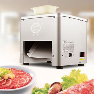 110v Commercial Home Use Stailess Steel Meat Slicer Machine Meat Cutter Machine