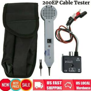 200ep Inductive Amplifier Cable Tester Detector Finder Toner Tone Generator Usa