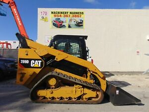 2018 Cat 289d Turbo 2 Speed Air Conditioned Heated Power Coupler