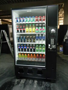 Dixie Narco 5591 Glass Front Can Bottle Beverage Vending Machine Free Shipping