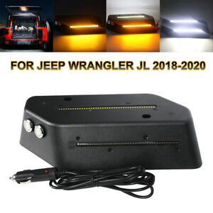 Led Cargo Interior Light Trunk Rear Warning Lamp For Jeep Wrangler Jl Jlu 2018