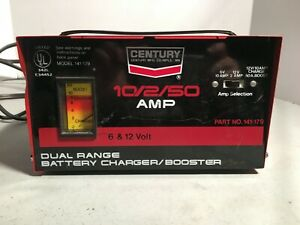 Century Battery Charger 6 12 Volt Model 87102 10 2 Amp 1327
