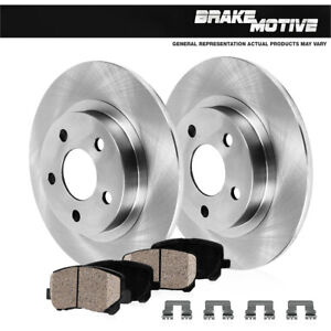 For Mitsubishi Eclipse Galant Rear 261 Mm Brake Disc Rotors And Ceramic Pads