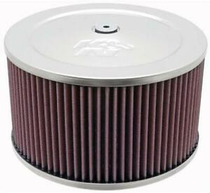 K N Air Cleaner 9 Dia Round Red Cotton Gauze Element 60 1365
