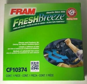Fram Fresh Breeze Cabin Air Filter Cf10374 For 2006 2014 Toyota Tacoma 4 0l 2 7l