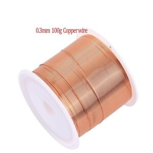 Enameled Copper Magnet Wire Magnetic Coil Winding Wire For Making Motor 10m 0 5m