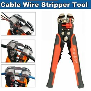 Usa Automatic Cable Wire Striper Cutter Stripping Crimper Pliers Terminal Tool