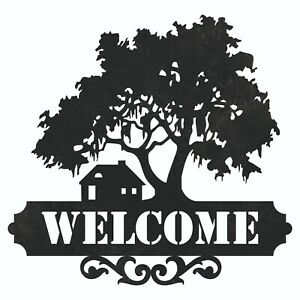 Welcome Tree Home Dxf Plasma Laser Waterjet Router Plotter Cut Vector Cnc Svg