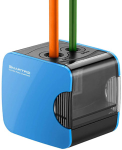 Smartro Electric Pencil Sharpener Best Usb Or Battery Operated For No 2 And Col